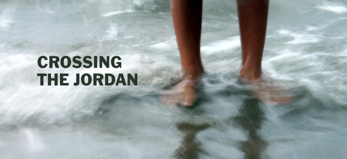Crossing the Jordan poster