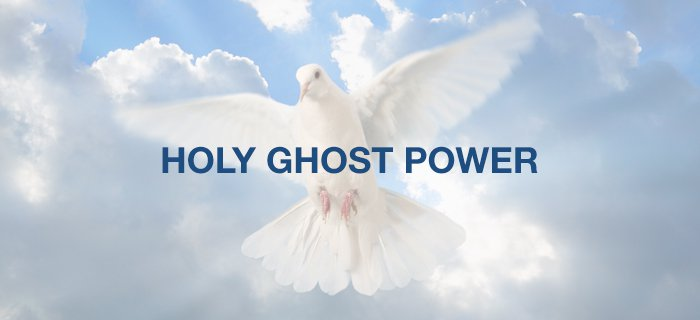 Holy Ghost Power poster