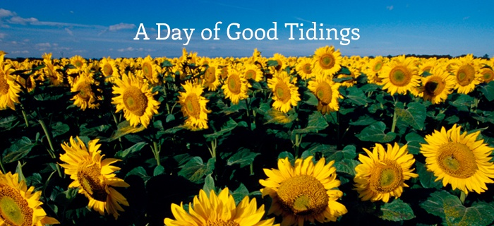 A Day of Good Tidings poster