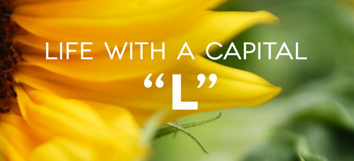 """Life with a Capital """"L"""" poster"""