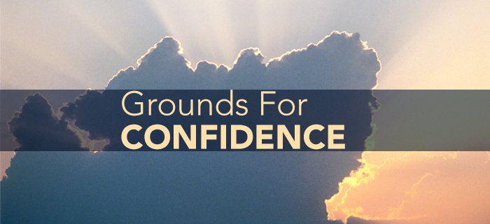 Grounds For Confidence poster