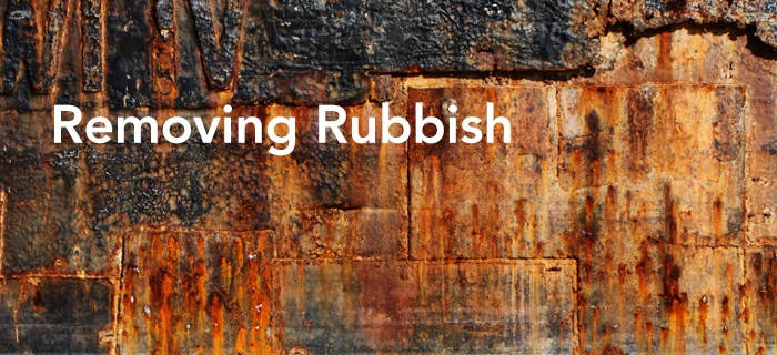 Removing Rubbish poster