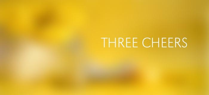 Three Cheers poster