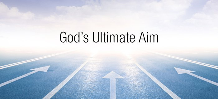 God's Ultimate Aim poster