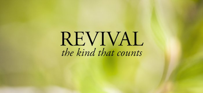 Revival—The Kind That Counts poster