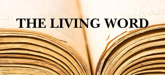 The Living Word poster