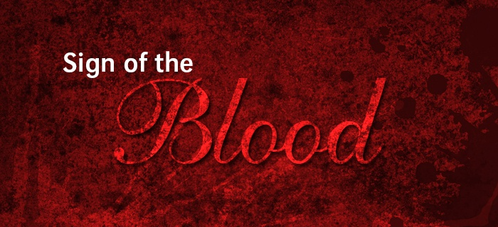Sign Of The Blood poster