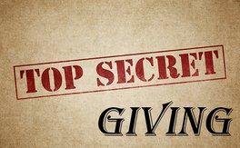 Poster for Secret Giving