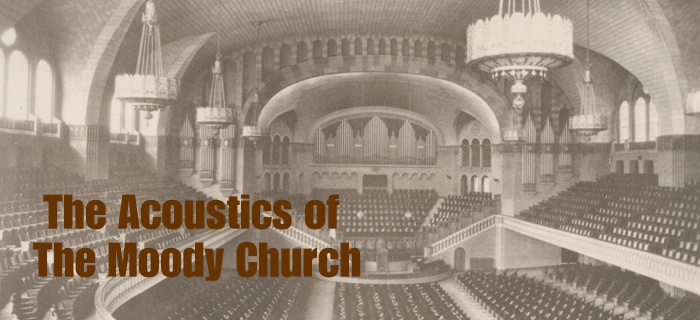 The Acoustics of The Moody Church poster