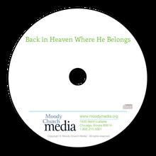 Back In Heaven Where HeBelongs