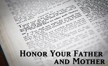 Honor Your Father And Mother Poster