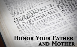 Poster for Honor Your Father And Mother