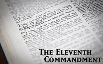 The Eleventh Commandment Poster