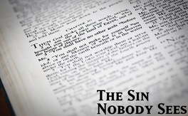 Poster for The Sin Nobody Sees