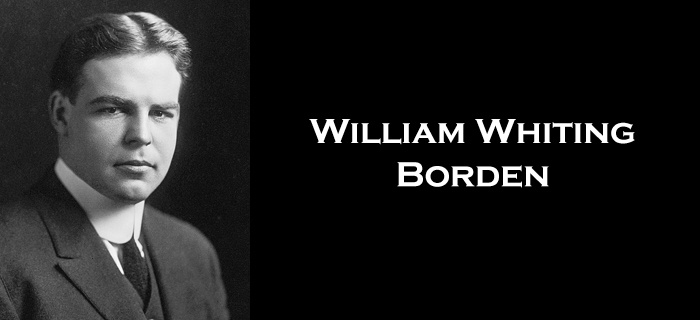 William Whiting Borden  poster