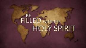 Be Filled With The Holy Spirit poster