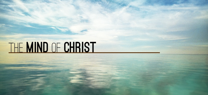The Mind Of Christ poster