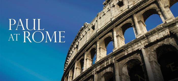 Paul at Rome poster