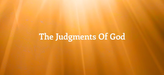 The Judgments Of God poster