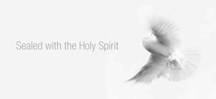 Sealed with the Holy Spirit poster
