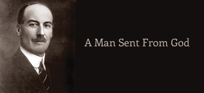 A Man Sent From God poster