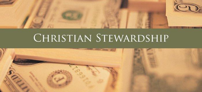 Christian Stewardship poster