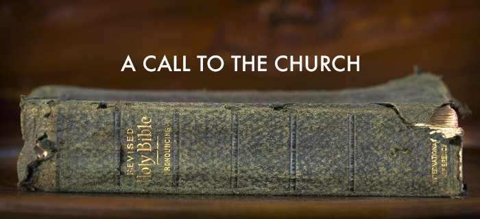 A Call To The Church poster
