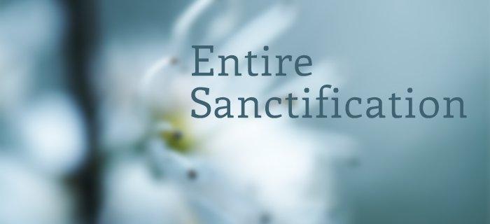 Entire Sanctification poster