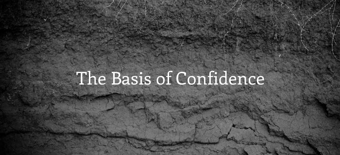 The Basis Of Confidence poster