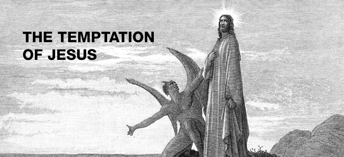 The Temptation of Jesus poster