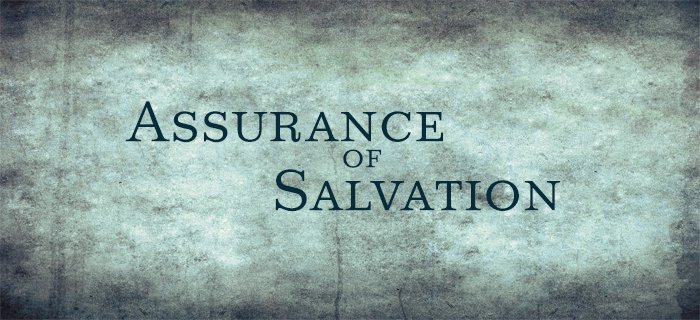Assurance of Salvation poster