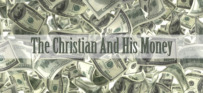 The Christian And His Money poster