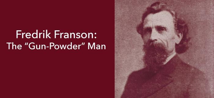 "The ""Gun-Powder"" Man poster"