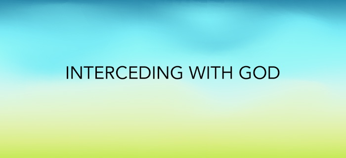 Interceding With God poster