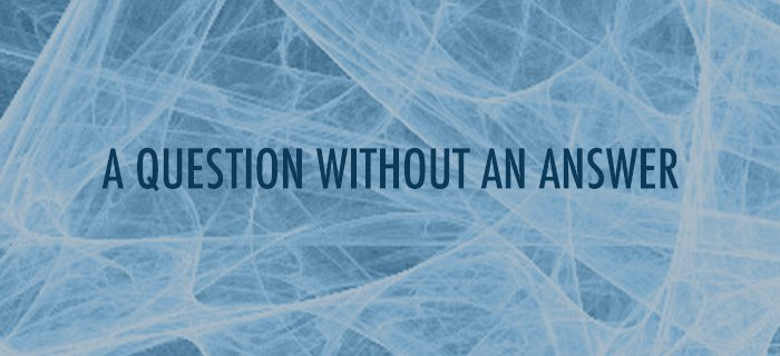 A Question Without An Answer poster