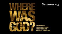 Is There A Discernible Message In NaturalDisasters? Poster