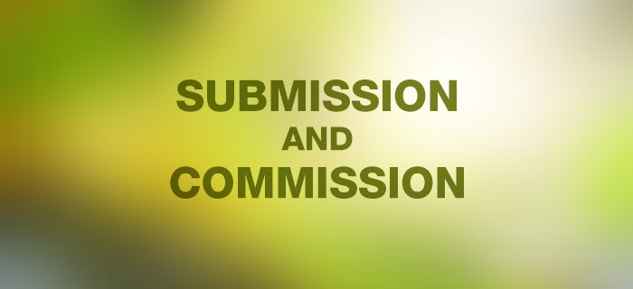 Submission And Commission poster