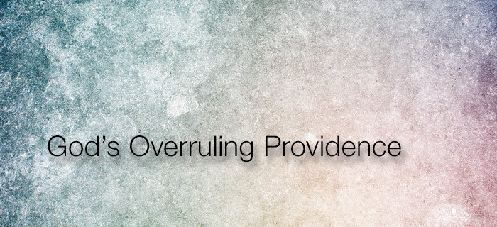 God's Overruling Providence poster