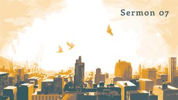 Poster for sermon