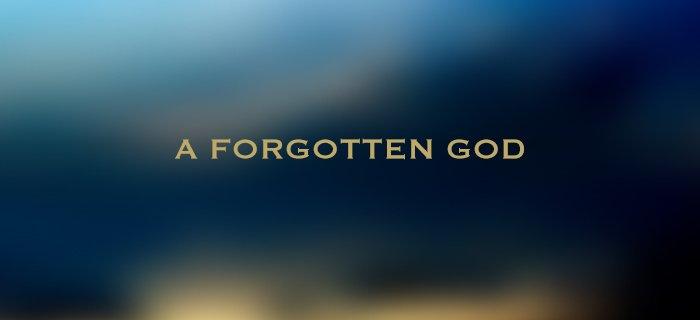 A Forgotten God poster