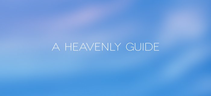 A Heavenly Guide poster