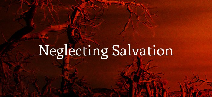 Neglecting Salvation poster