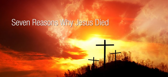 Seven Reasons Why Jesus Died poster