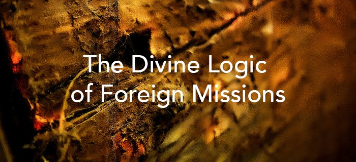 The Divine Logic Of Foreign Missions poster