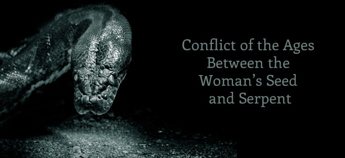 Conflict Of The Ages Between The Woman's Seed And Serpent poster