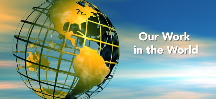 Our Work In The World poster