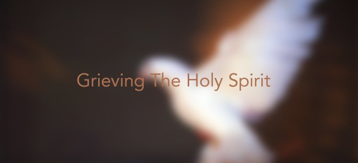 Grieving The Holy Spirit poster
