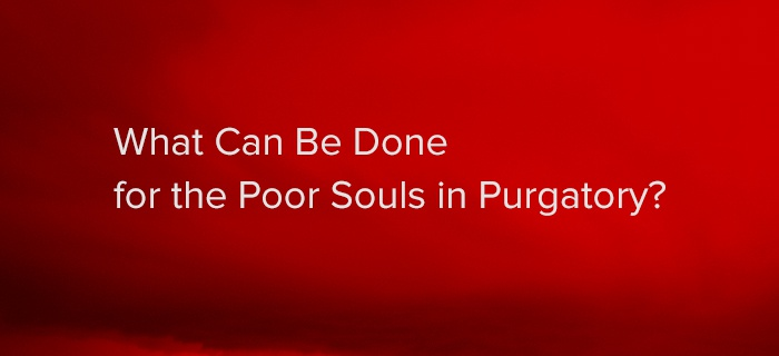 What Can Be Done for the Poor Souls in Purgatory? poster