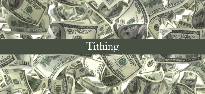 Tithing poster