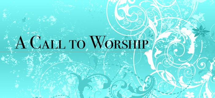 A Call To Worship poster